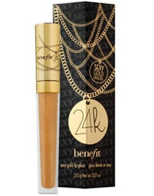 Trend Alert:  24K Gold Lip Gloss