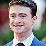 Daniel Radcliffe was all smiles at the Venice Film Festival.