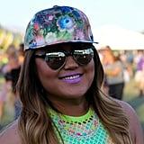 Mirrored Sunglasses at Coachella 2015