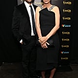 Jonathan LaPaglia and Rachel Griffiths.