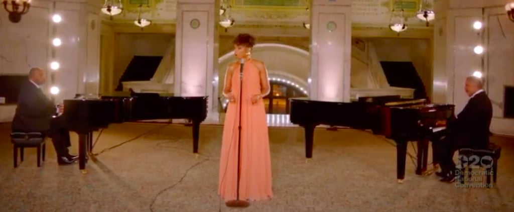 "Jennifer Hudson Singing ""A Change Is Gonna Come"" at the DNC"