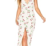 This Privacy Please Lomax Dress ($178) comes in a cute cherry print and features a front split.