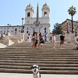 And can we talk about the Spanish Steps?!