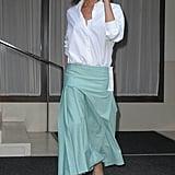 Victoria Beckham Hasn't Taken Off Her Dorothy Pumps Since Her NYFW Show