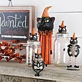 K & K Interiors Skeleton Cat Statue