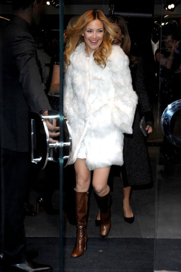 Kate Hudson's Winter White Fur: Love It or Hate It?