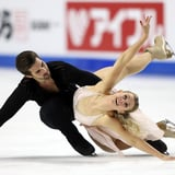 "Hubble and Donohue's ""Hallelujah"" Ice Dance at Skate America"