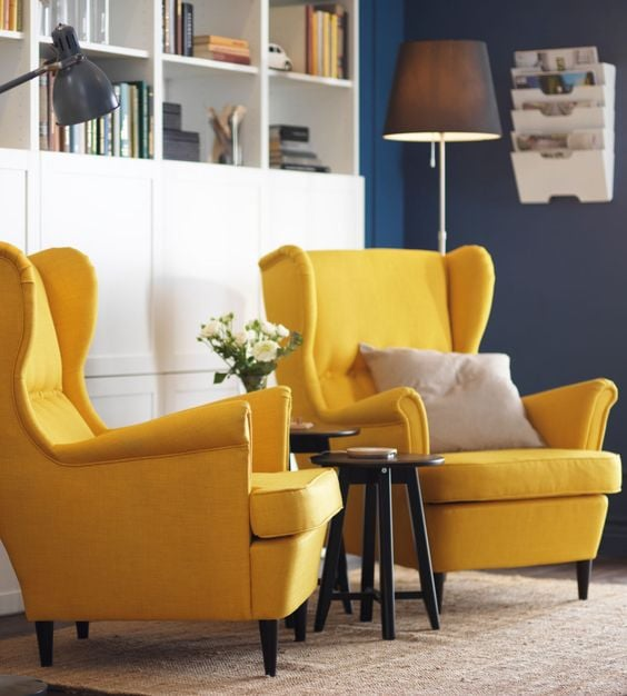 wingback chairs