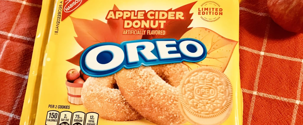 Oreo Apple Cider Donut Review