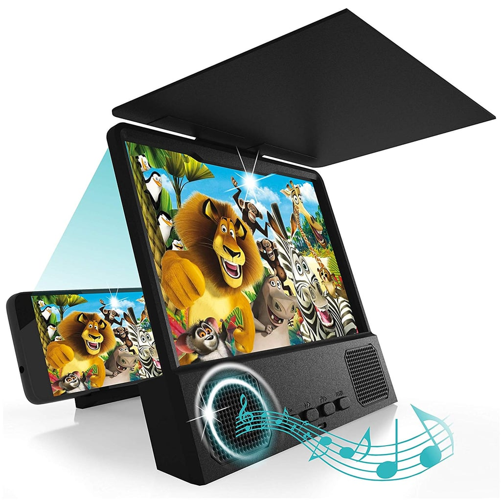 Phone Screen Magnifier with Bluetooth Speakers