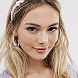 Asos My Accessories London Exclusive Graduated Pearl Headband
