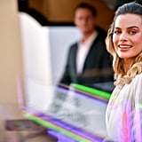 Margot Robbie at the Once Upon a Time in Hollywood LA premiere.