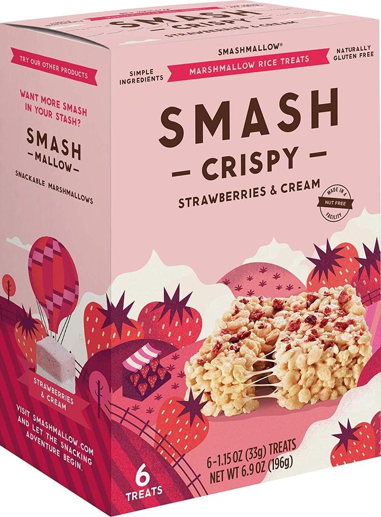Smashmallow Strawberries & Cream Smashcrispy