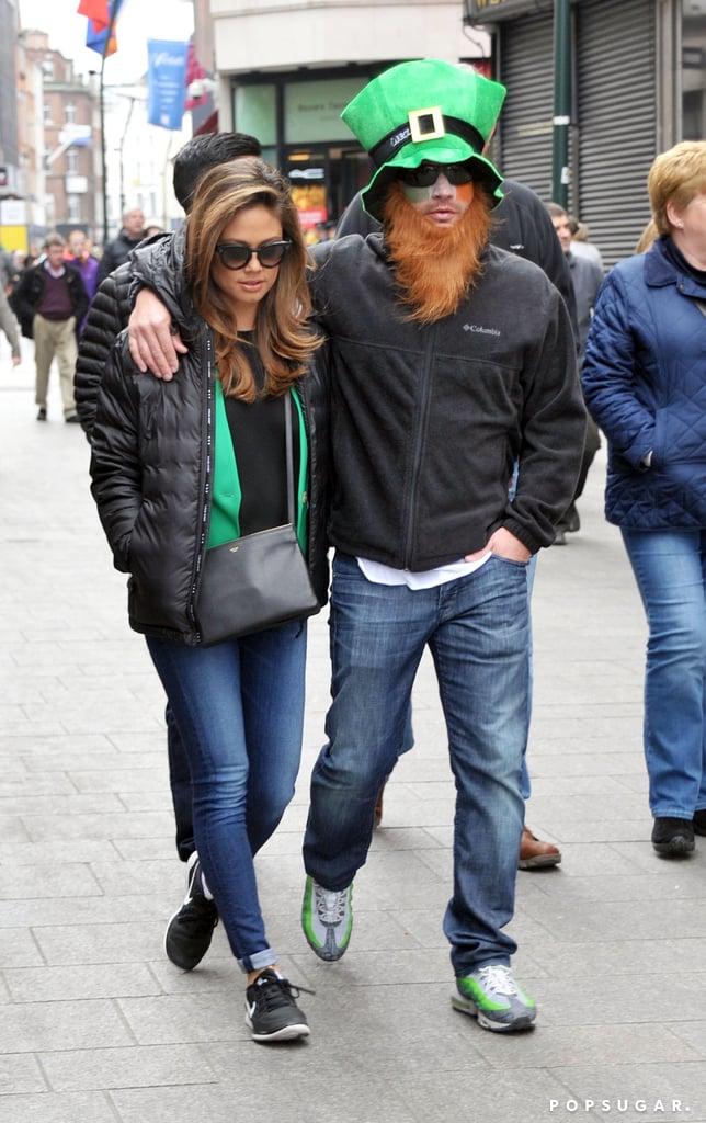 Nick and Vanessa Lachey Celebrate St. Patrick's Day in Ireland