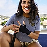 """On believing you're good enough: """"In our society, it's easier to sell somebody the idea of not being enough versus 'You are enough.' It's like we women consciously decide we're going to be mean to ourselves. But you're your own hero, not some image you can't live up to.""""  On the power of Latinos: """"Every marketer, every studio I talk to wants to know how to cater to this demographic. I want Latinos to understand where their power lies. Think about how crazy a movement it would be if Latinos just stopped watching until they put a Latino or Latina lead in Fantastic Four or Robocop."""""""