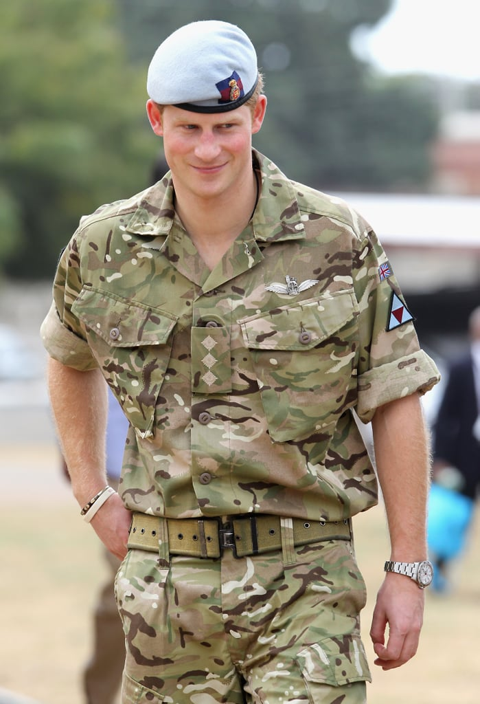 Prince Harry was in Jamaica as part of a Diamond Jubilee Tour, representing Queen Elizabeth II.