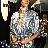 Naomi Campbell Backstage