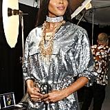 Naomi Campbell Backstage