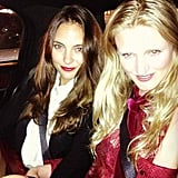 Model Amy Bracco hung out with her best friend, fellow model and photographer Candice Lake. Birds of a feather... Source: Instagram user amybracco