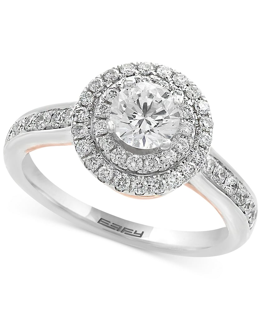 Effy Infinite Love Diamond Halo Engagement Ring