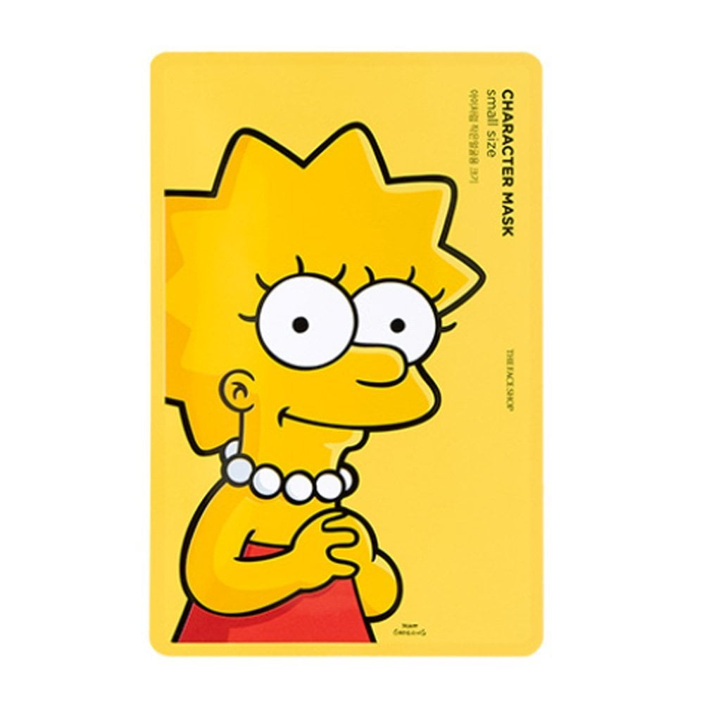 The Face Shop x The Simpsons Character Mask Lisa