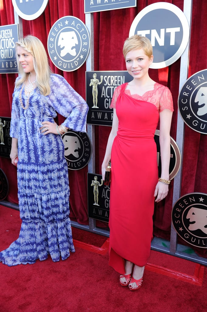 Michelle Williams posed with Busy Philipps.