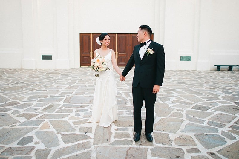 Black tie wedding in california popsugar love sex the bride of this black tie wedding is in the fashion industry so you know junglespirit Image collections