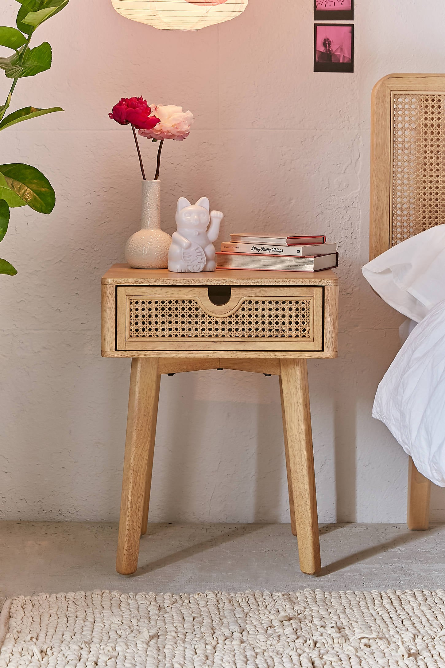 Marte Nightstand 50 Wonderfully Woven And Rustic Rattan Furniture Pieces Your Home Needs Asap Popsugar Home Photo 24