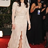 Jessica Biel on the red carpet.