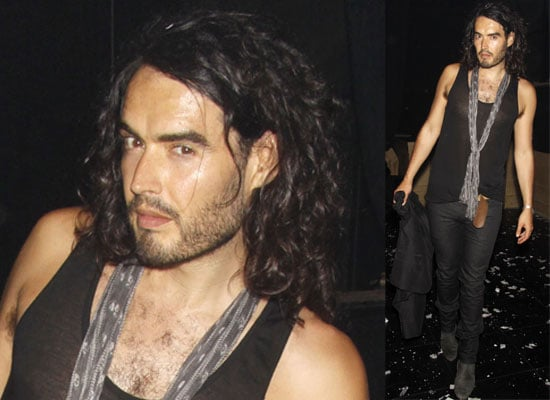 Photos Of Russell Brand Out In New York City Where He's Filming Get Him To The Greek