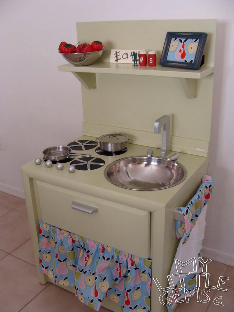 The After: A Gender-Neutral Play Kitchen