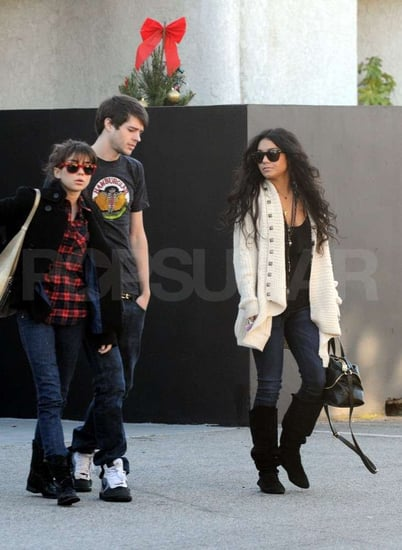 Picture of Vanessa Hudgens at Lunch With Friends in LA