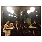 Kim, Kanye West, John Legend, and Chrissy Teigen Finished the Night at Waffle House
