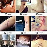 Zodiac Sign Tattoo Ideas