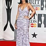 Rihanna at the Brit Awards 2016