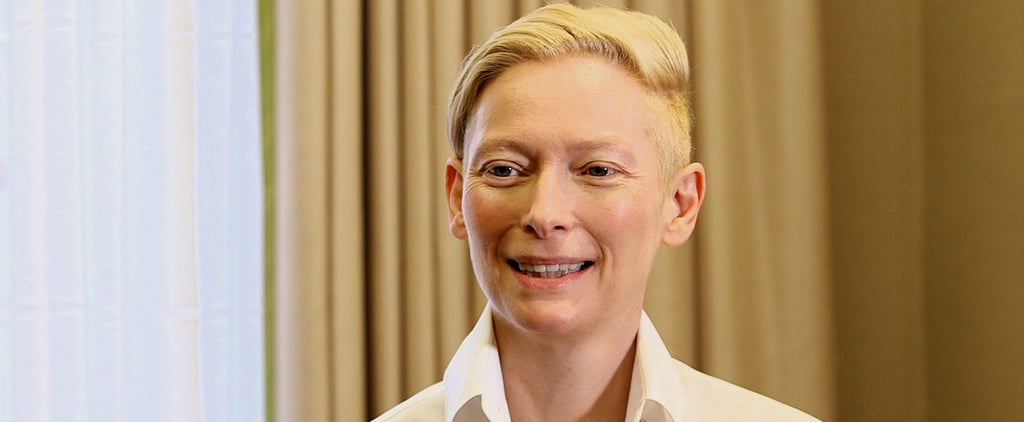 Tilda Swinton Says She Forced Tom Hiddleston Not to Smile