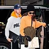 Priyanka Chopra and Nick Jonas in New York City