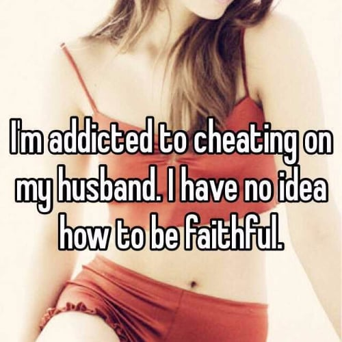 Infidelity Confessions
