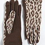 Dress your outfit up with an exotic accent via these cheetah-print gloves. The thumb and forefinger feature openings for quicker texting. Echo Text & Cheetah Print Gloves ($27)