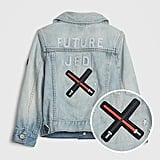 This Star Wars™ Icon Denim Jacket ($58) is the perfect gift for the baby of diehard Jedi fans.