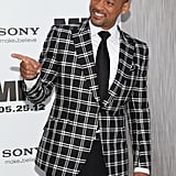Will Smith was animated on the black carpet for the Men in Black III premiere in NYC.