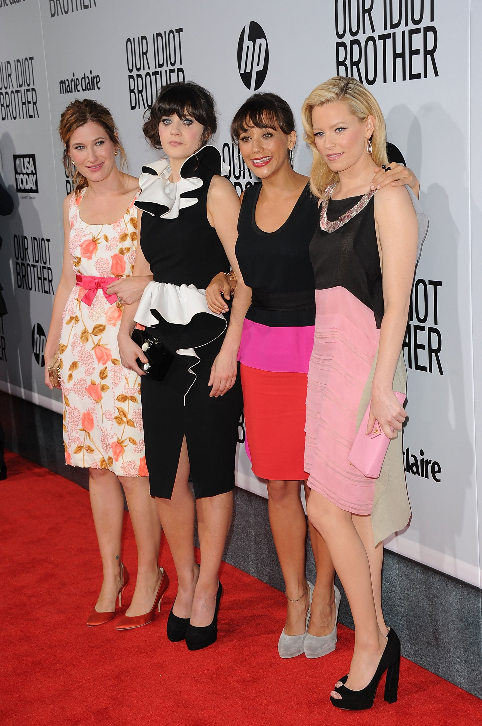 Kathryn Hahn, Zooey Deschanel, Rashida Jones and Elizabeth Banks