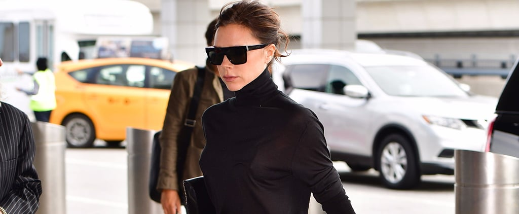 Victoria Beckham's Travel Shoes Are the Type You'd Never Think to Wear to the Airport
