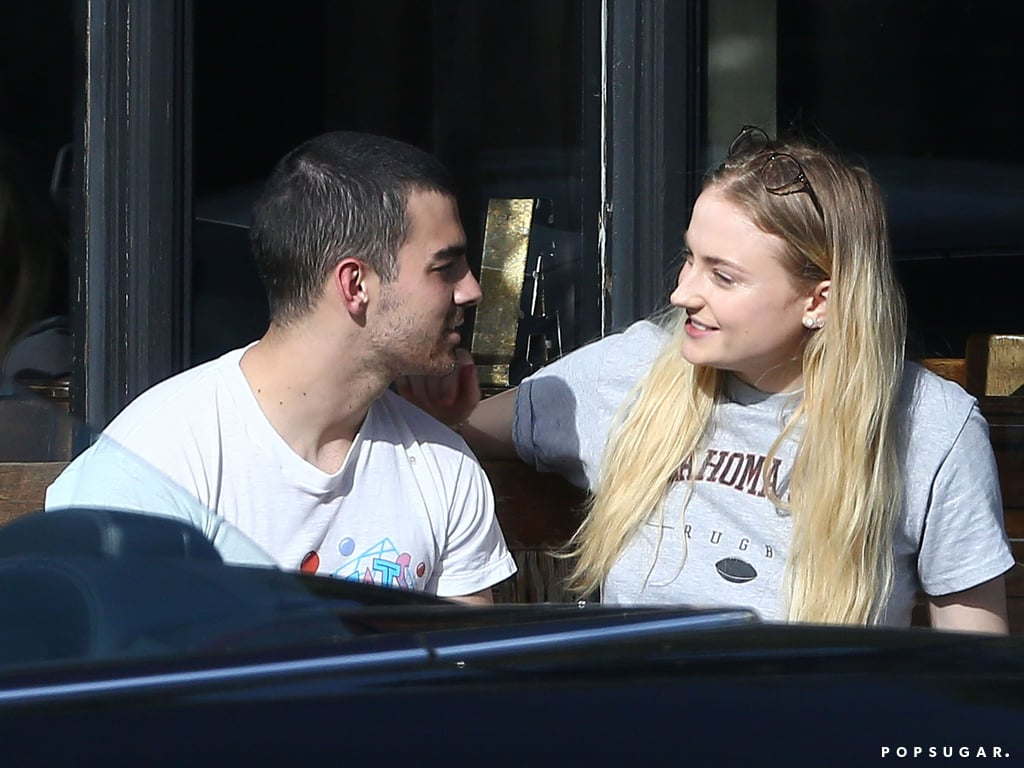 Joe Jonas and Sophie Turner in LA April 2017