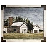 Farmhouse Barn Canvas Wall Art