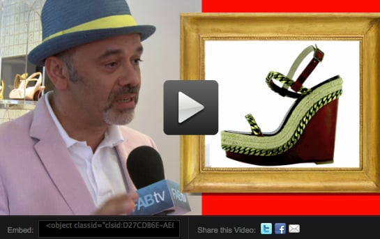 Christian Louboutin Interview 2010-05-06 10:05:22