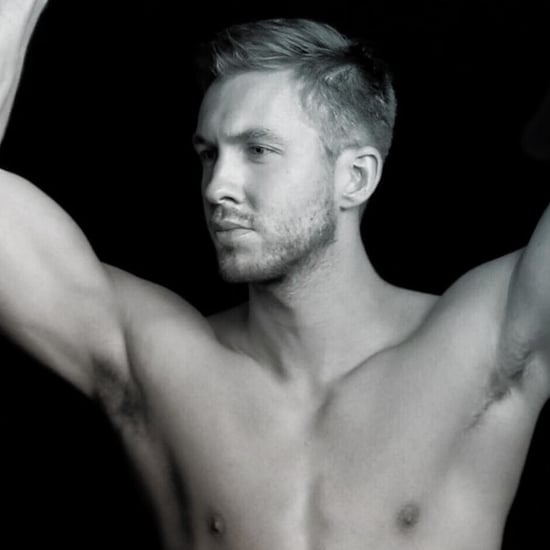 Calvin Harris Shirtless Instagram Picture