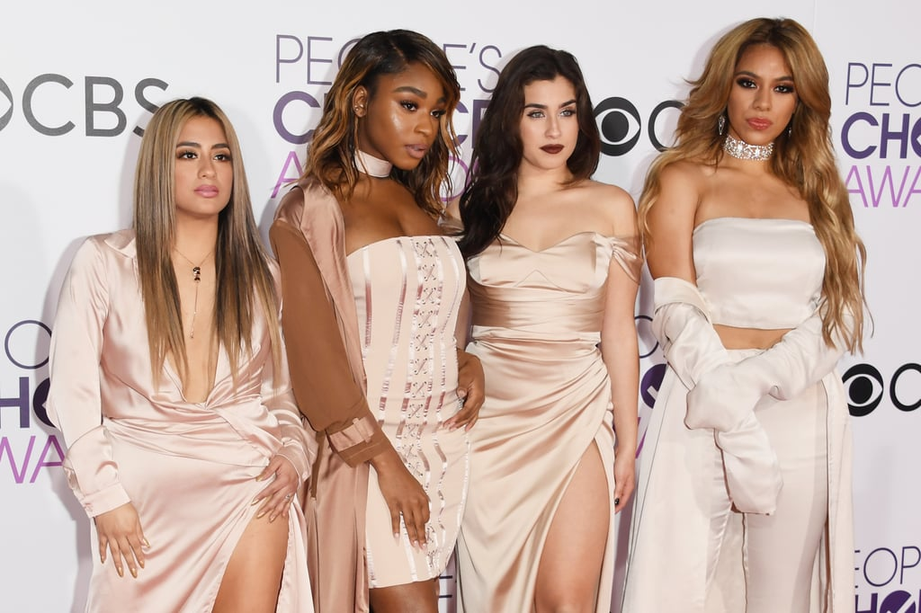 Fifth Harmony Hair and Makeup at People's Choice Awards