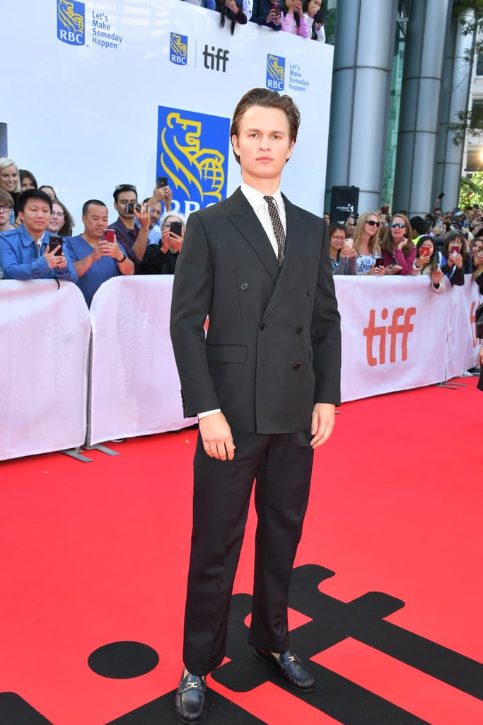 Ansel Elgort at The Goldfinch Premiere