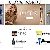 Luxury Beauty Launches Online